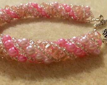 Baby doll pink spiral BDSP1037