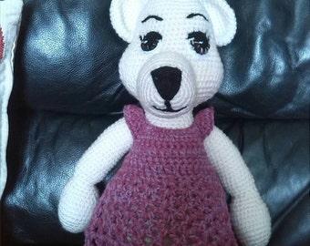 Amigurumi bear, toy bear, crochet bear, handmade bear. Collectable