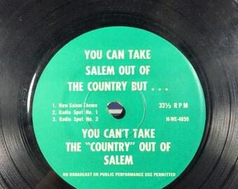 Salem Cigarettes Radio Commercial Record