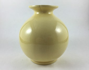 Hyalyn Small Yellow Bud Vase