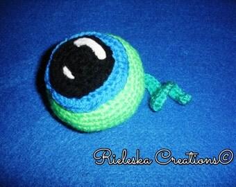 Crochet PDF Pattern -Septic Eye Sam/amigurumi