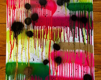 Feel an Abstract Spray Painting