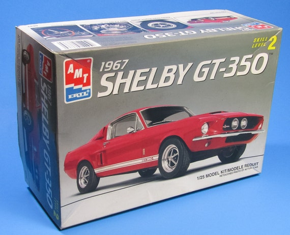 1967 Shelby Ford GT-350 Model Kit