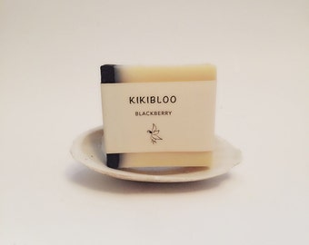 Blackberry Soap Vegan Organic Cold Process Soap By kikibloo