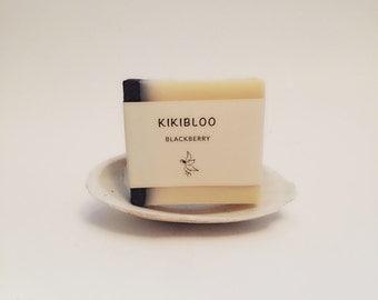 Blackberry Soap Vegan Organic Cold Process Soap By kikibloo