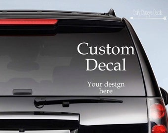Design your own decal