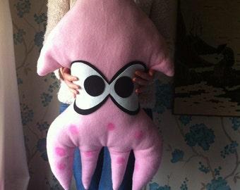 Handmade fleece giant squids