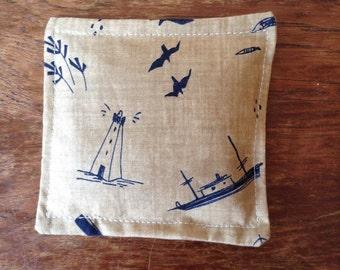 Hand sewn lavender sachet