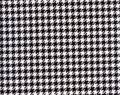 BLACK & WHITE HOUNDSTOOTH...