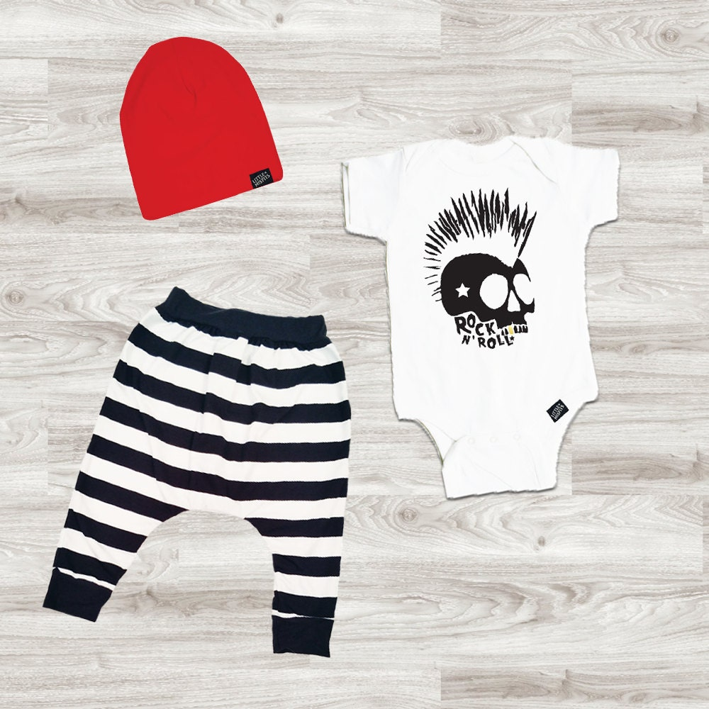 Baby Boy Outfit Baby Boy Clothes Baby Leggings Baby Beanie