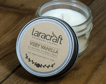 Very Vanilla Soy Candle 4 oz.