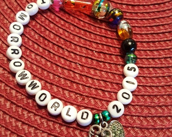 tomorrowworld bracelet items similar to in trance we trust kandi bracelet on etsy 2678