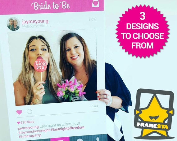 Bachelorette Party Photo Booth Prop Digital File