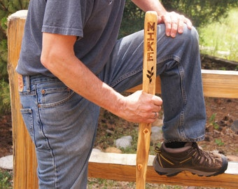 Personalized Hiking Stick,  Gift for Him/ Walking Stick/Girlfriend Gift/Boyfriend Gift/Guy Gift/ Couple Gift/Kids Gift