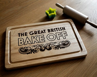 Chopping Board, Cutting Board Wooden and Laser Engraved With Your Design And Wording