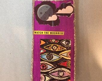 Moonrise - moon magnet