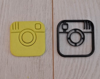 Social networks (Instagram or Twitter) cookie cutter