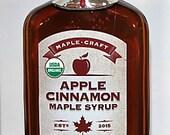 Organic Apple Cinnamon Maple Syrup