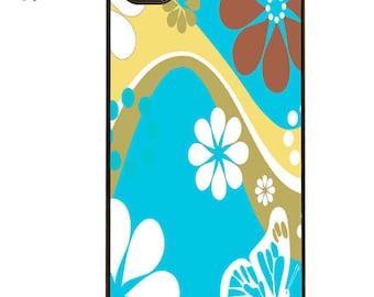 BLUE FLOWERS iPhone case 4,5,& 6