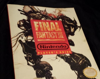 Final Fantasy 3 vintage players guide