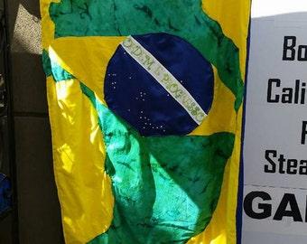 Brazil twin blanket