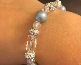 Something blue! Wedding bracelet