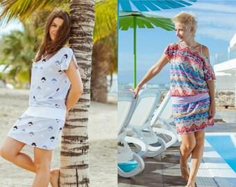JUNIA dress pattern – pattern & eBook, sizes 158–46 (Kids M–women XL) / Instant Download