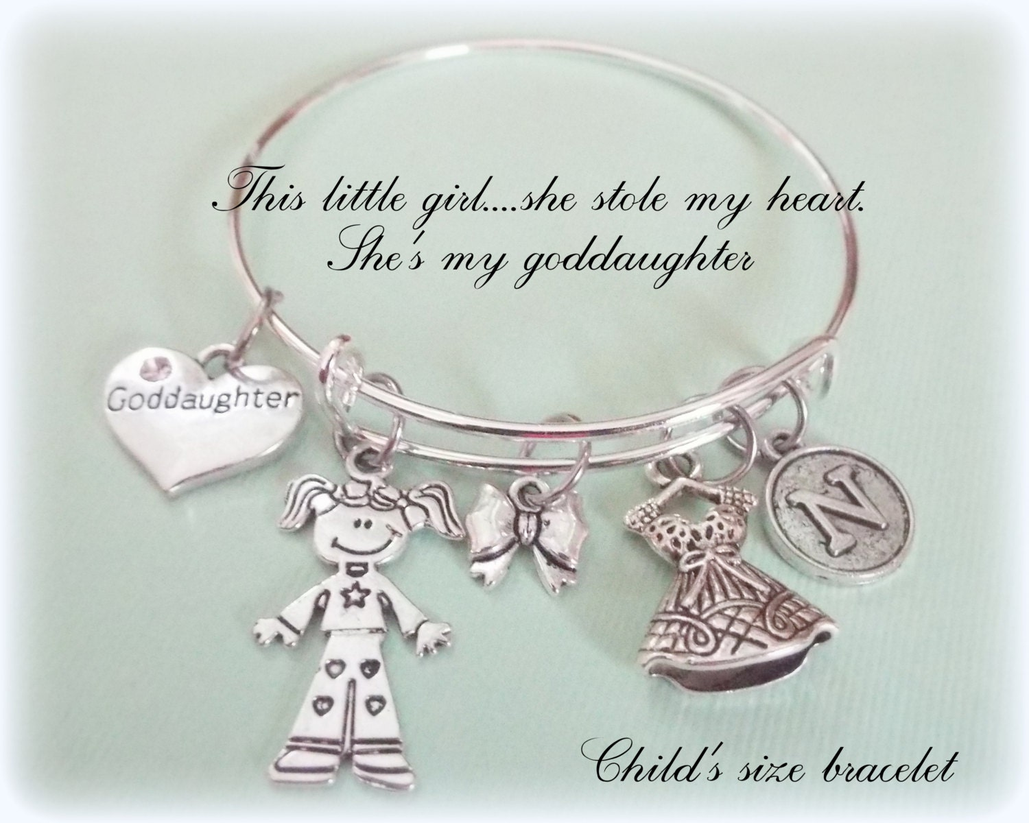Gift For Goddaughter Birthstone Necklace Sterling By: Goddaughter Gift Child's Jewelry Gift Godmother To