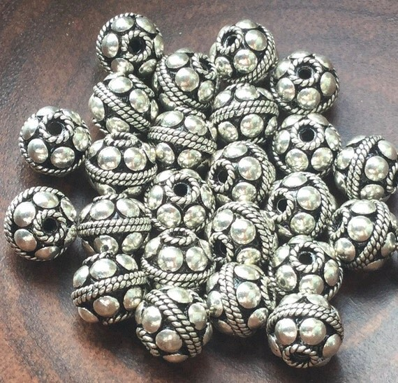bali sterling silver bead
