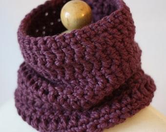 The Fig Crochet Neckwarmer Scarf