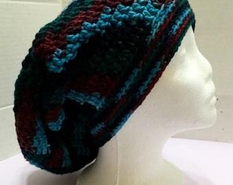 Slouchy Hat, Crochet Slouchy Hat, Women's Slouchy Hat, Slouchy Beanie Hat, Women's Hat