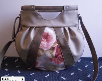 Free shipping---Stylish, unique, handmade women bag, Vegan Leather, Handbag, Crossbody bag