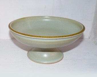 Hand Thrown Pedistal bowl, Fruit Bowl, Pottery Bowl - 726