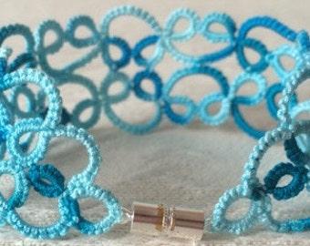 Lace Bracelet: Ocean (M-L)