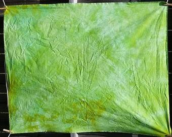 Hand Dyed Fabric- OOAK- 1 yard #11001