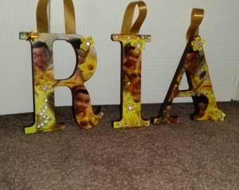 Iridessa inspired Tinkerbell fairy letters(up to 6 letters)