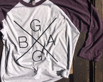 BG GA // Ball Ground, GA. (Can be personalized for different name or place)
