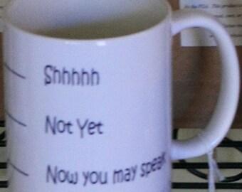 Mug: Shh