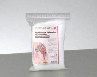 Hochbausch Fiberfill for Teddy bear or pillow, 50 gr