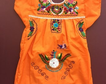 Mexican dress Size 4-5