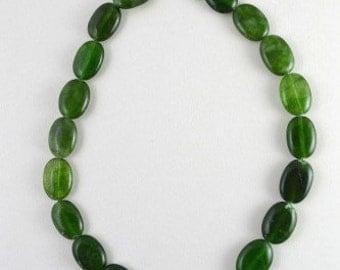 13x20mm Aventurine Green Oval Beads, Stone Beads,Gemstones