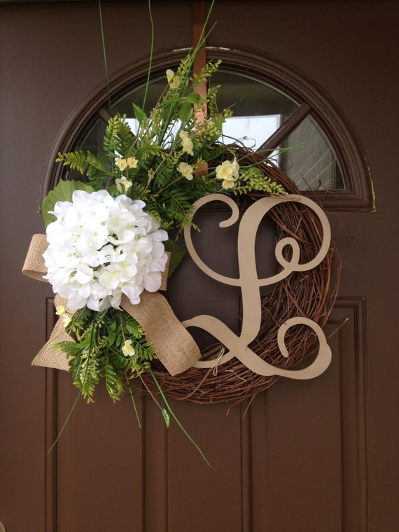 Summer Outdoor Wall Decor : Wreath door decor summer for front