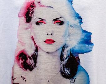 Emmanuelgift Blondie Debbie Harry t-shirt
