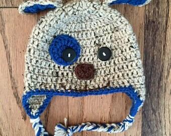 Crochet Puppy Dog Hat