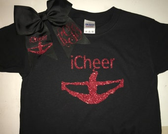 iFly, iCheer, iTumble, iBase and iBackspot shirts and bows