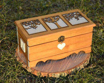 "Keepsake box ""Heart Tree"""