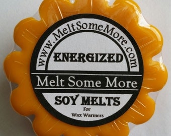 Soy Wax Melts Energized scented tart melts for warmers