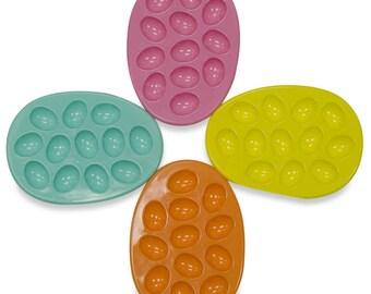 """12"""" Set of 4 Easter Egg Holder Plates- SKU # G90478"""