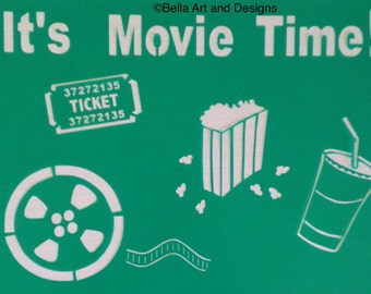 """Assorted """"Movie"""" stencils *Free gift with every order*"""