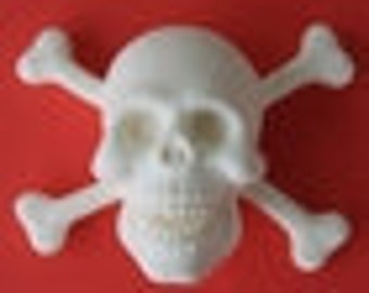 Jolly Roger Skull Silicone Mold Petal Crafts